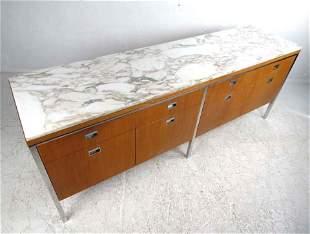 Midcentury Marble-Top Dresser by Gordon Bunshaft