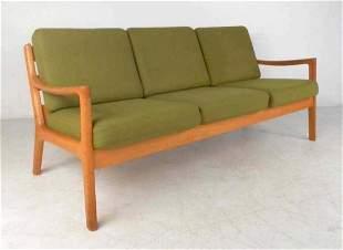 Ole Wanscher #166 Sofa for Cado in Senator Oak