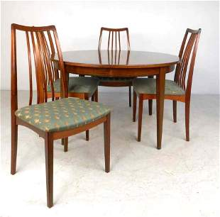 Omann Jun Rosewood Dining Table and Chairs
