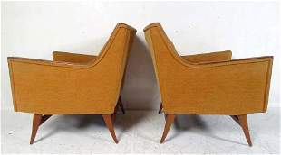 Pair of Mid-Century Modern Paul McCobb Lounge Chairs