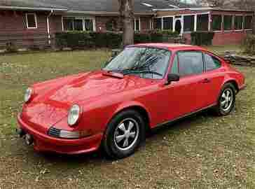 1971 911E Porsche