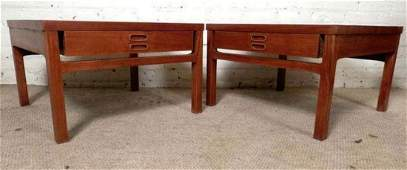 Mid-Century Wide Sofa Tables from Denmark