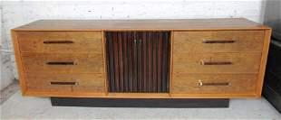 Long Mid-Century Modern Dresser