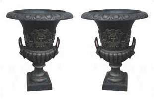 Pair of Outdoor Urns