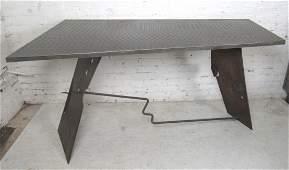 Industrial Style Metal Desk