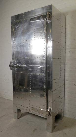 Industrial Style Ice Chest Cabinet