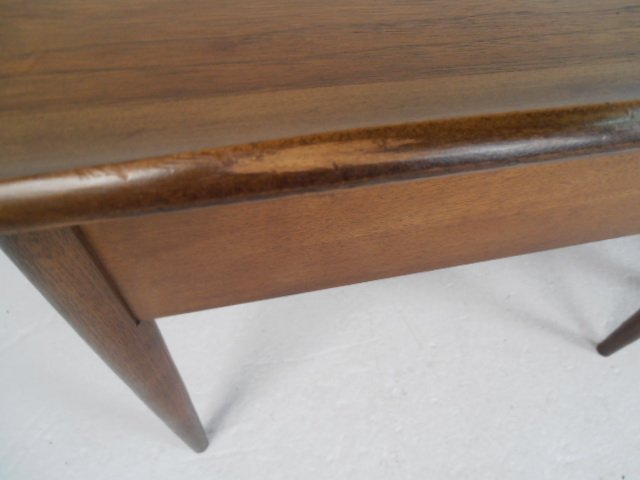 Pair Mid-Century Walnut End Tables by Bassett Furniture - 7