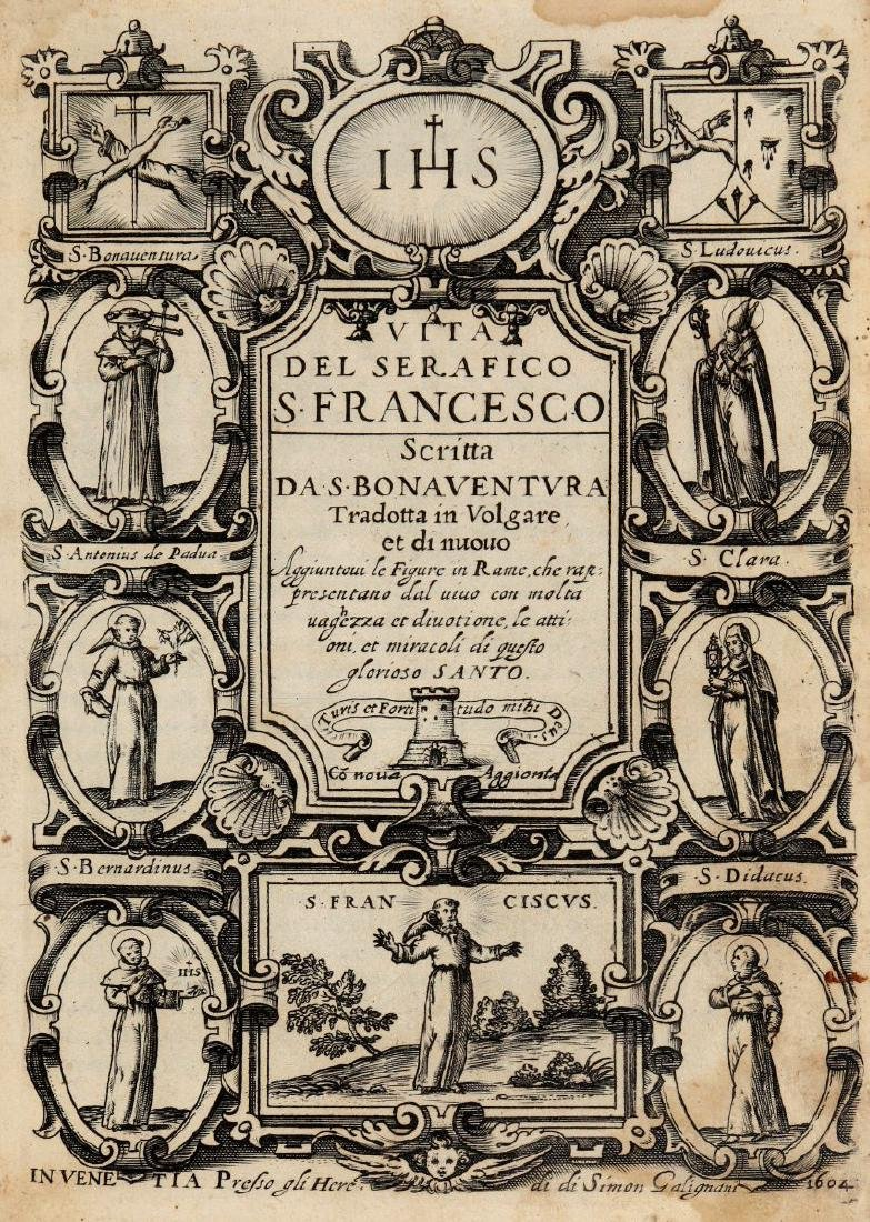 Bonaventura da Bagnorea. Vita del serafico s. Francesco