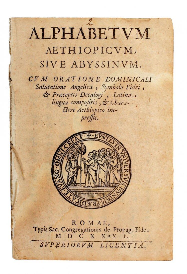 Alphabetum Aethiopicum