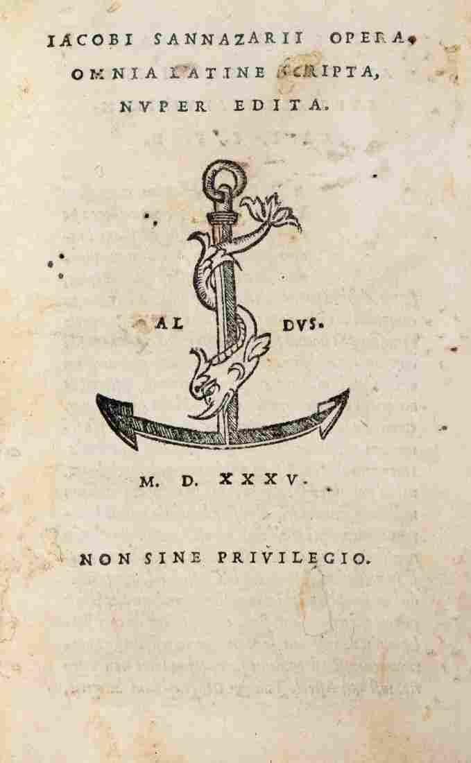 Sannazzaro Iacopo, 1535