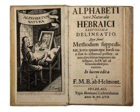 Helmont Franciscus Mercurius (van), 1667