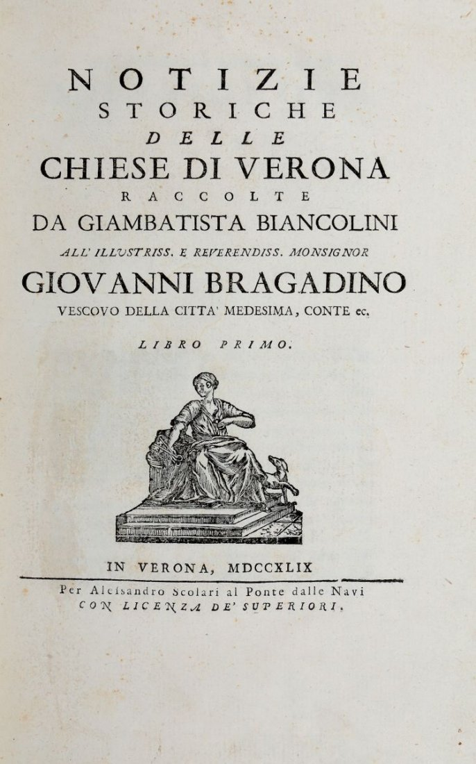 Biancolini Giovanni Battista Giuseppe. Notizie Storiche