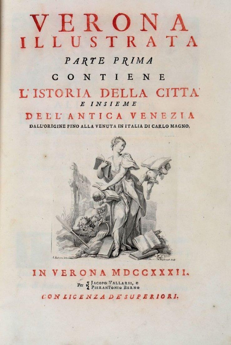 Maffei Scipione. Verona illustrata parte prima