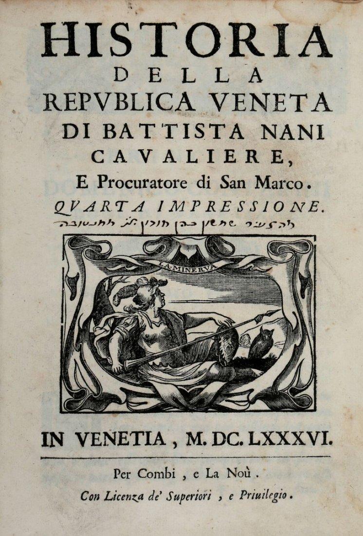 Nani Giovanni Battista. Historia della Republica