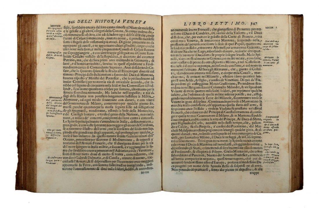 Nani Giovanni Battista. Historia della Republica - 2
