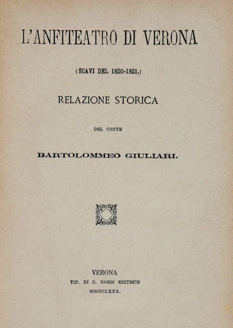 Perini Osvaldo. Storia di Verona: dal 1790 al 1822. - 2