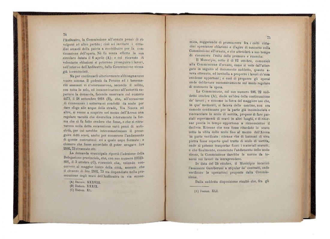 Perini Osvaldo. Storia di Verona: dal 1790 al 1822. - 3