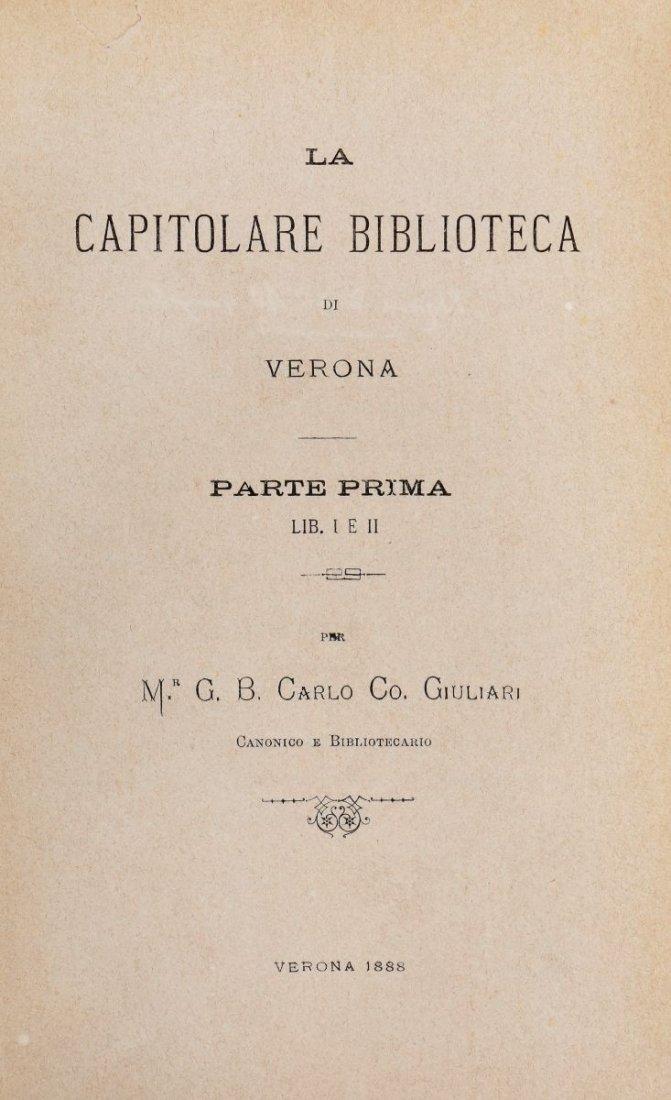 Perini Osvaldo. Storia di Verona: dal 1790 al 1822. - 5