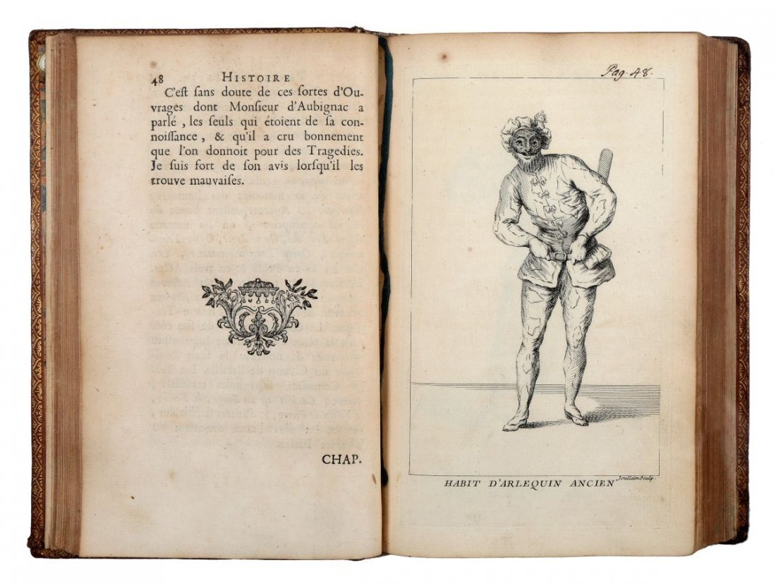 Riccoboni Luigi. Histoire du Theatre Italien... (Al - 4
