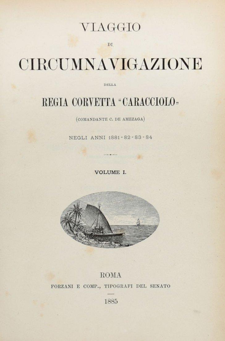 De Amezaga Carlo. Viaggio di circumnavigazione della