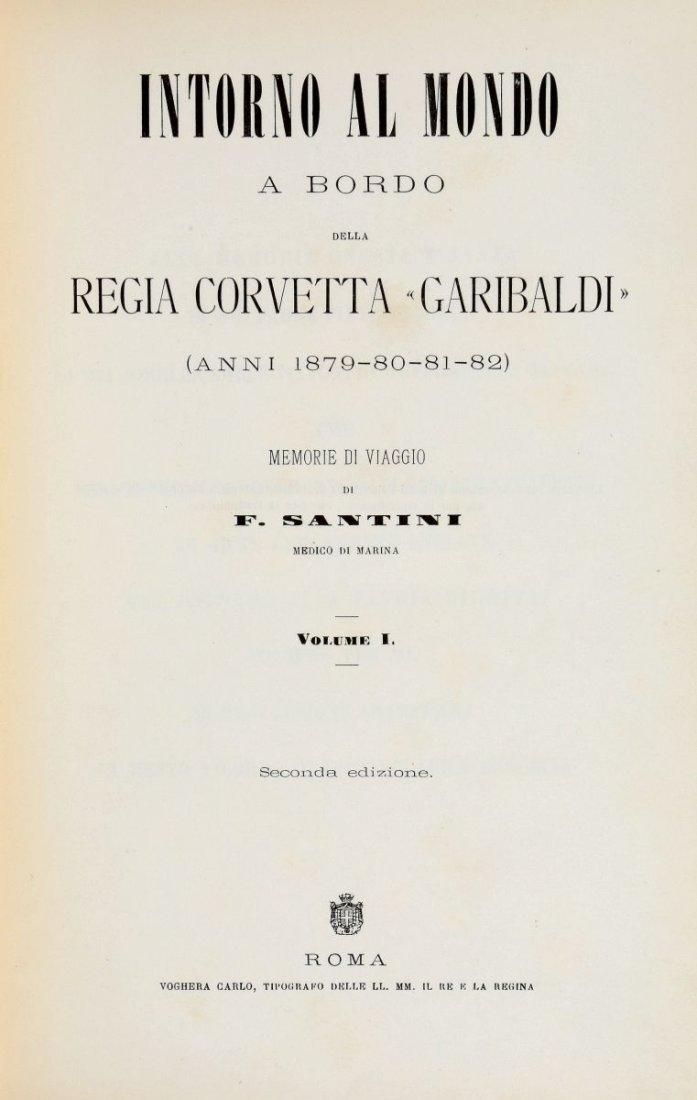 Santini Felice. Intorno al mondo a bordo della regia - 2