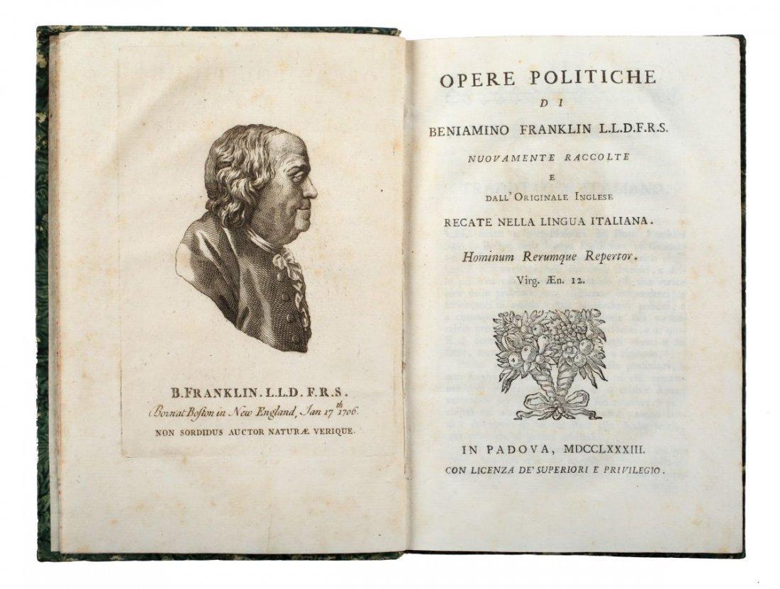 Franklin Benjamin. Opere politiche di Benjamino - 2