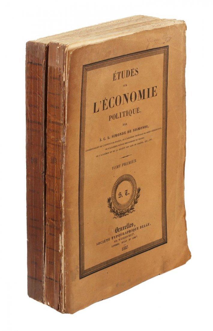 Sismondi Jean Charles Léonard Simonde (de). É