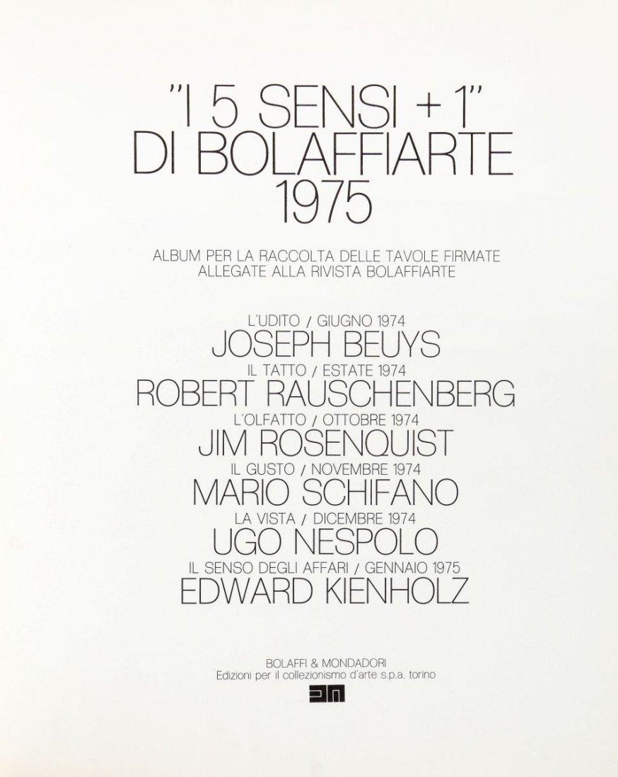 Beuys Joseph, Rauschenberg Robert (et al.). I 5 Sensi +