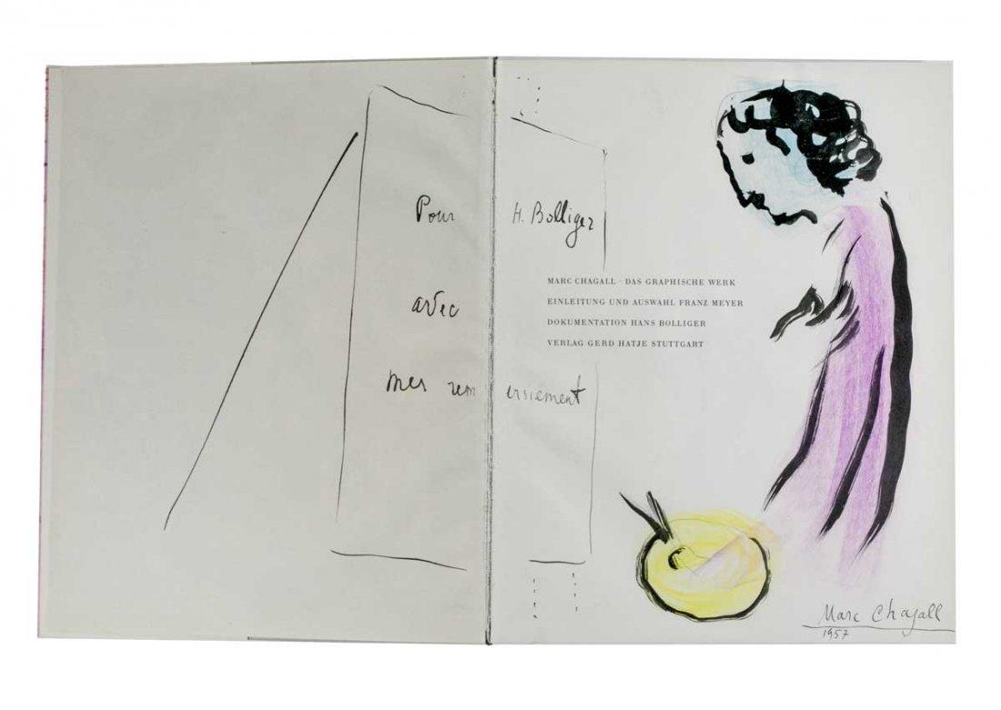 Chagall Marc. Marc Chagall. Das graphische Werk.