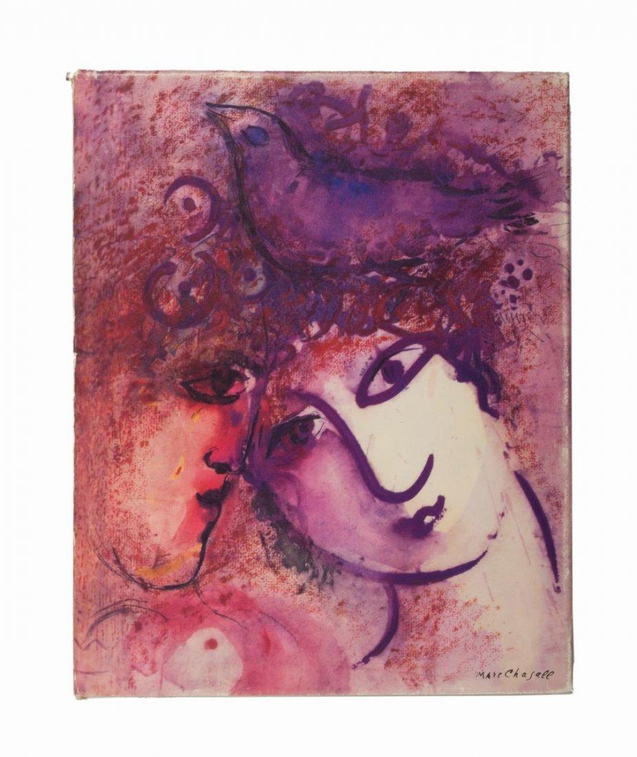 Chagall Marc. Marc Chagall. Das graphische Werk. - 2