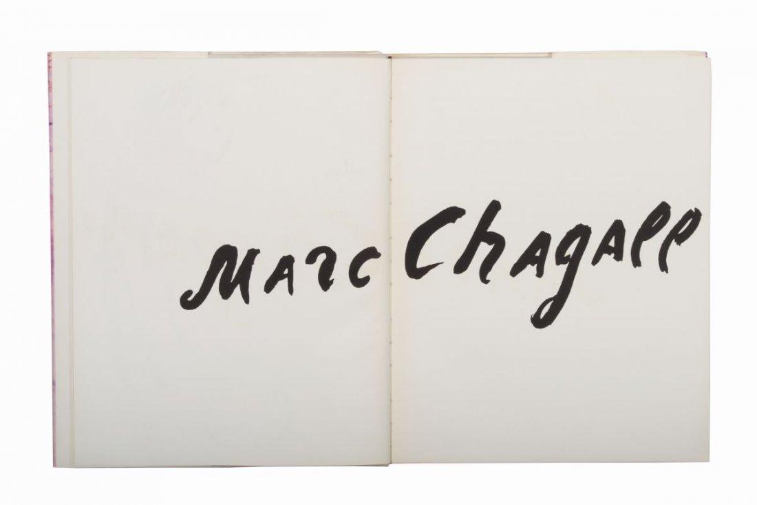 Chagall Marc. Marc Chagall. Das graphische Werk. - 3
