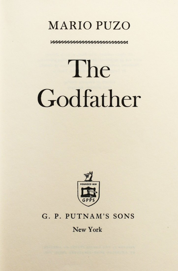 Puzo Mario. The Godfather. A Novel. New York: G. P. - 2