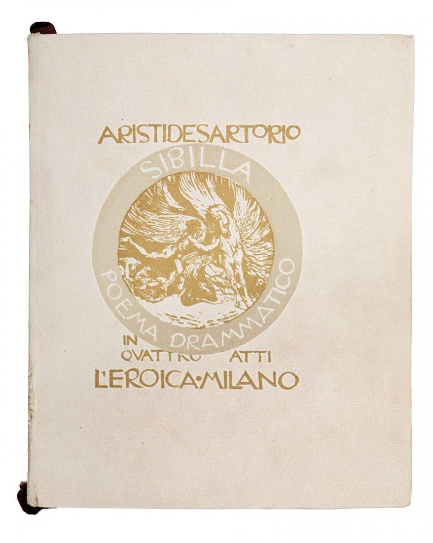 Sartorio Giulio Aristide. Sibilla. Milano: L'Eroica,