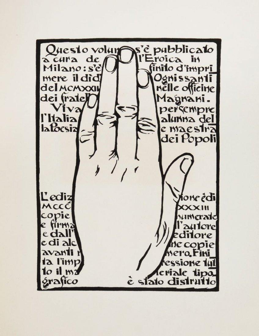 Sartorio Giulio Aristide. Sibilla. Milano: L'Eroica, - 5