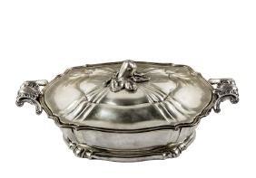 Zuppiera in argento titolo 800, Italia, primi del