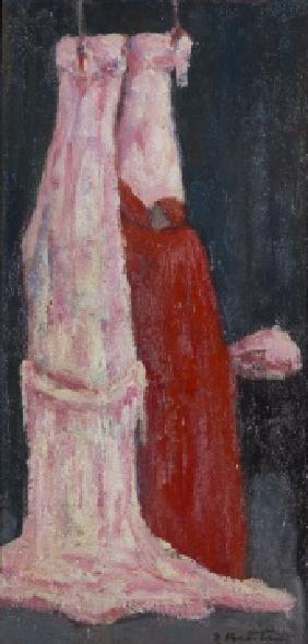 Bentini Roberto. Cardinale con due buoi. 1978