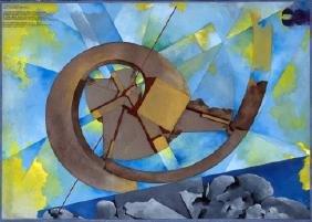 Pomodoro Giò. Spirale Aurea. 1990