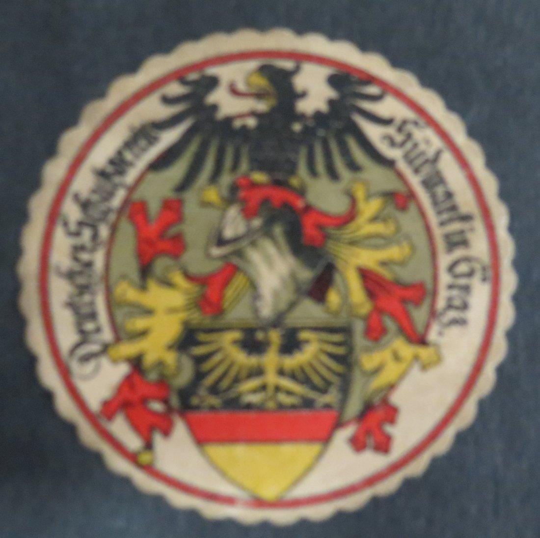 "Ex Libris Germany D S Sudmarfin Graz 1.8"" Diam"