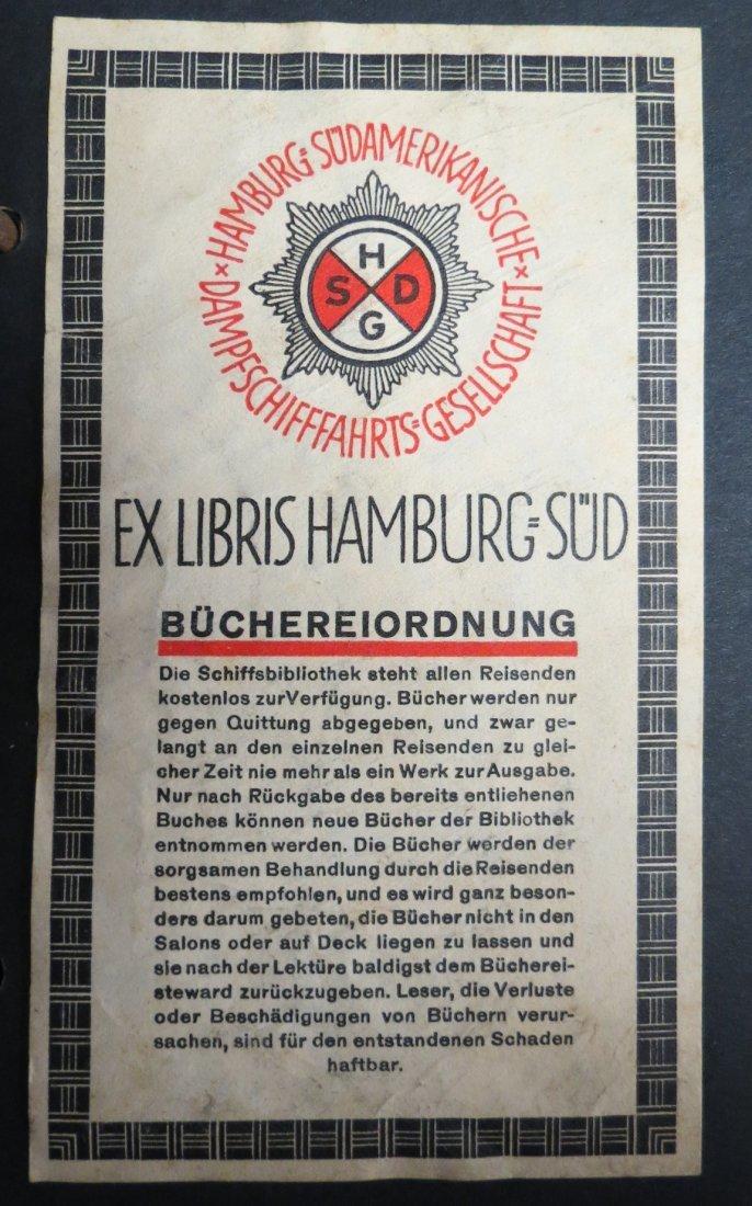 Ex Libris Germany Hamburg Sudamericanische
