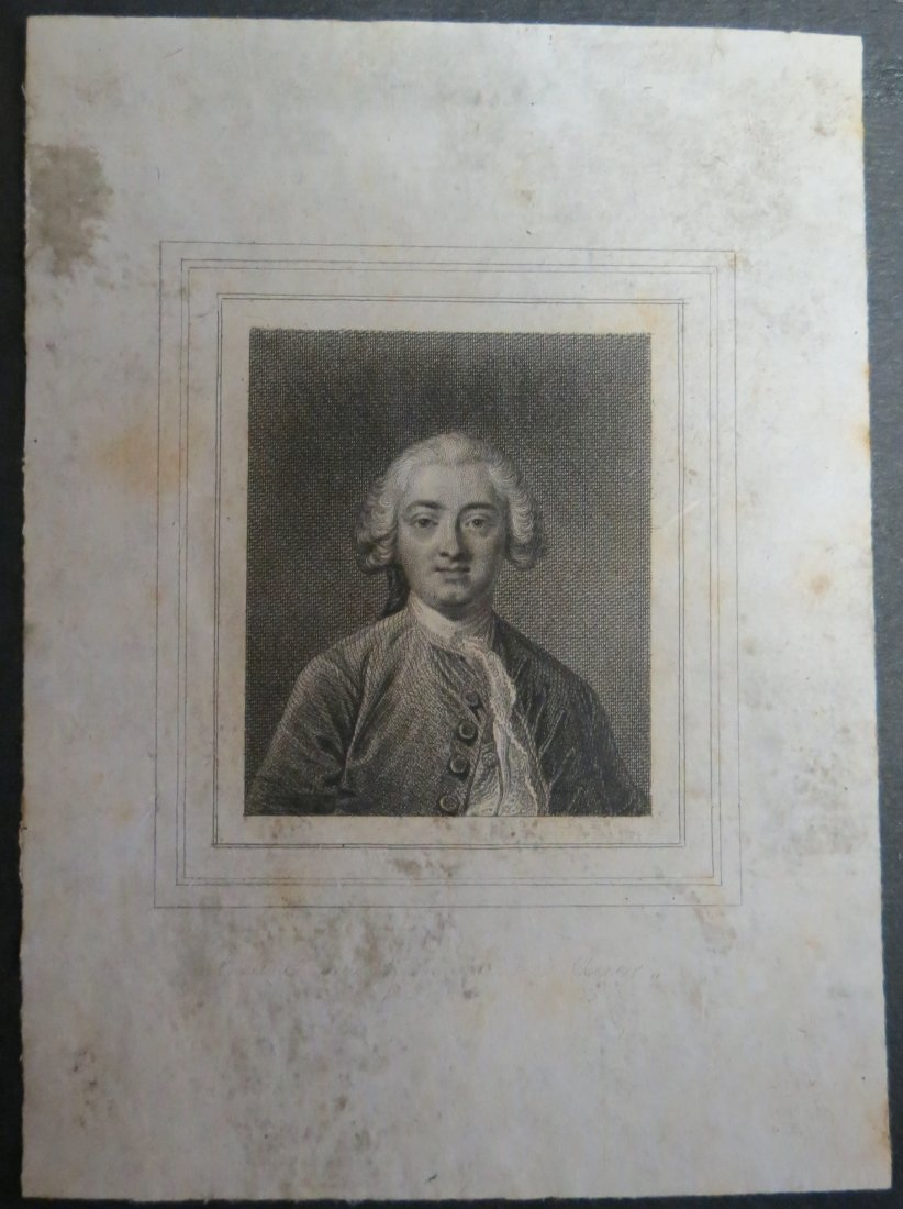 "Ex Libris France  1900 4"" x 3"""