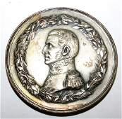 "Br. Medal San Martin - 1902  Military Diam: 2"""