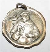 """Bronze medal Religion 1900 Diam: 1.2"""""""