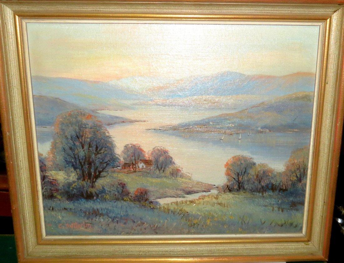 Sutterlin Oil on Canvas Landscape