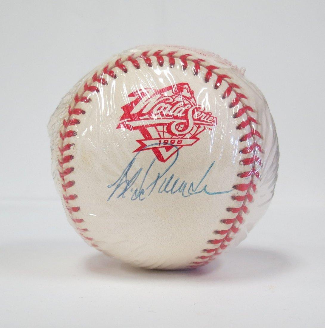 Jorge Posada signed baseball with COA