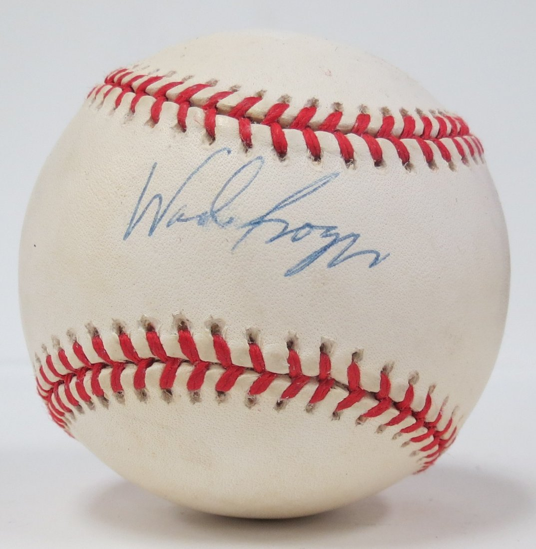 Wade Boggs signed baseball with Certificate of