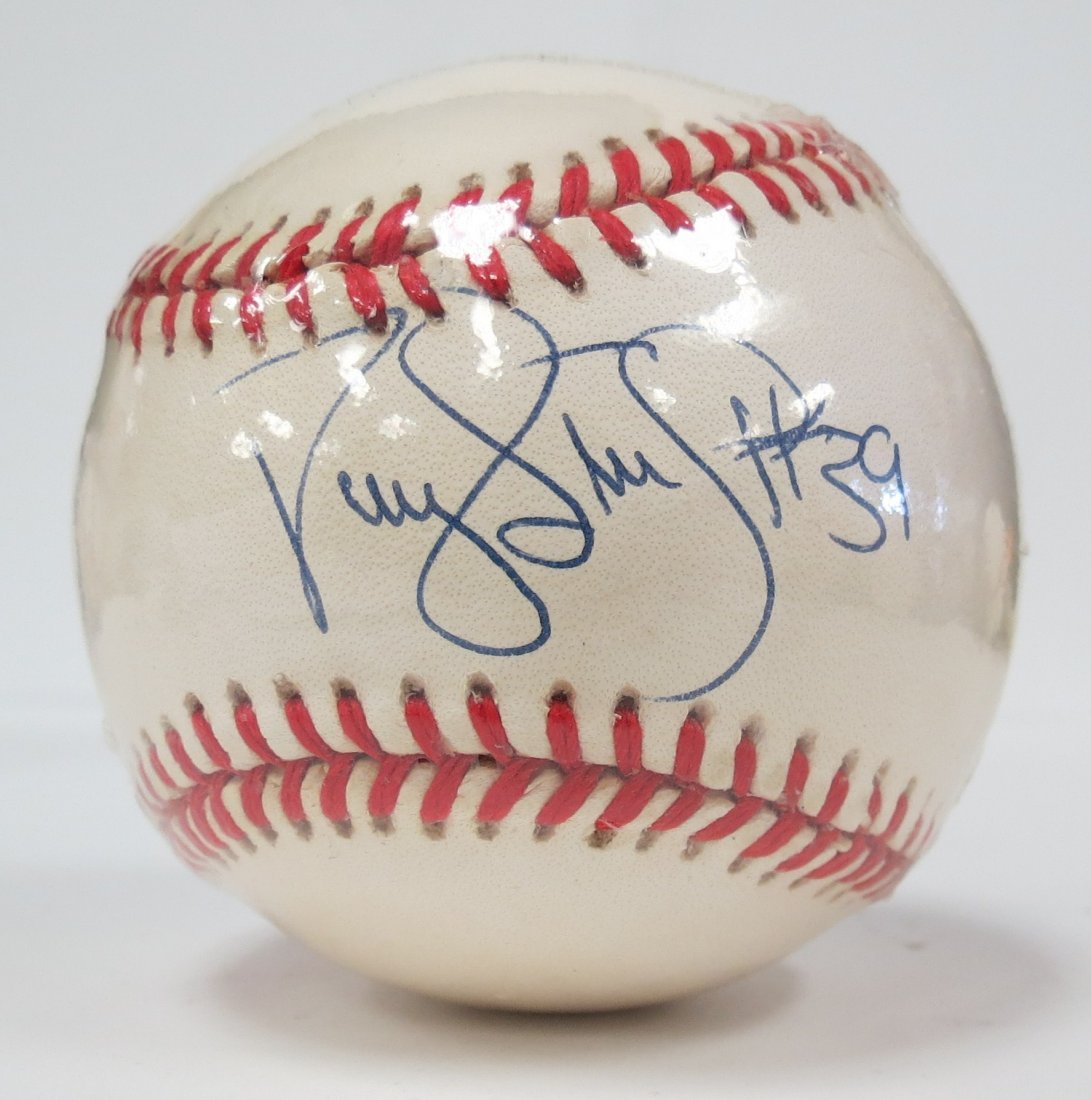 Mariano Rivera signed baseball with Certificate of