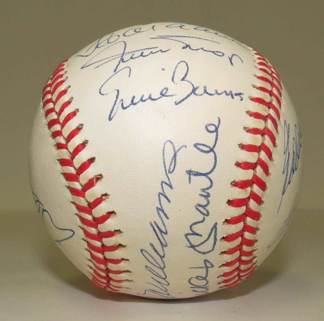 500 Home Run Hitter Club signed baseball