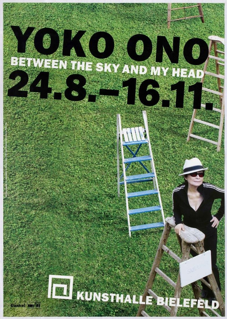 Advertising Poster Yoko Ono Between the Sky and my Head