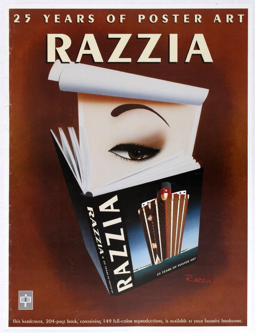 Advertising Poster 25 Years of Poster Art Razzia