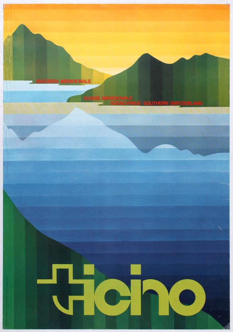 Travel Poster Southern Switzerland Ticino